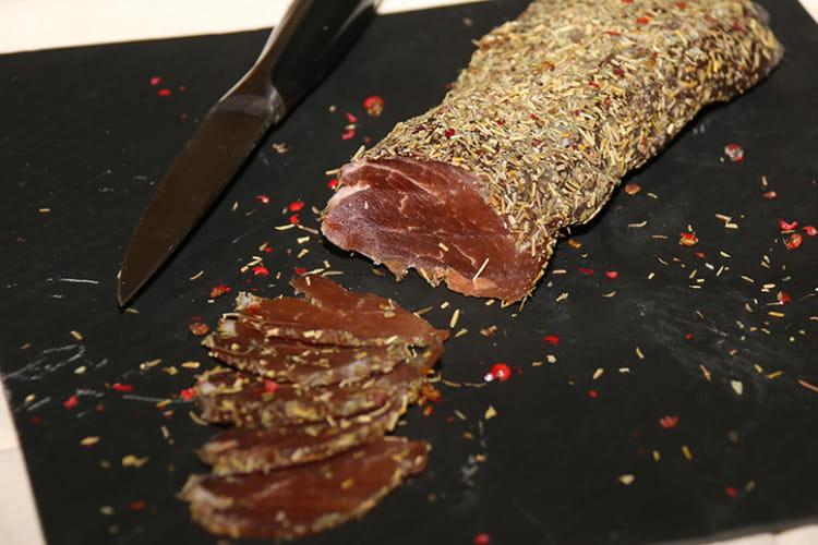 Filet mignon de porc séché ou lomo maison