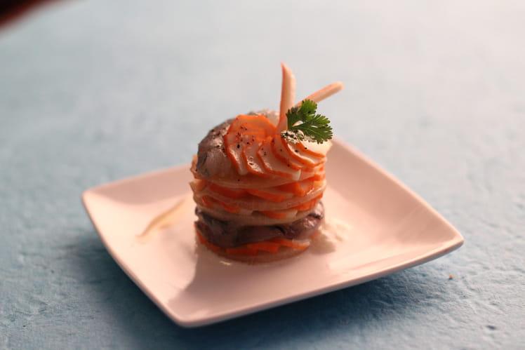 Carpaccio de langoustines et fenouil