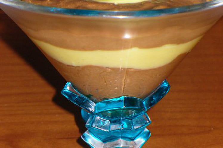 Mousse citron chocolat
