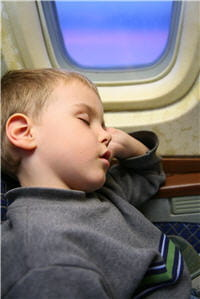 l'avion n'est pas une contre-indication.