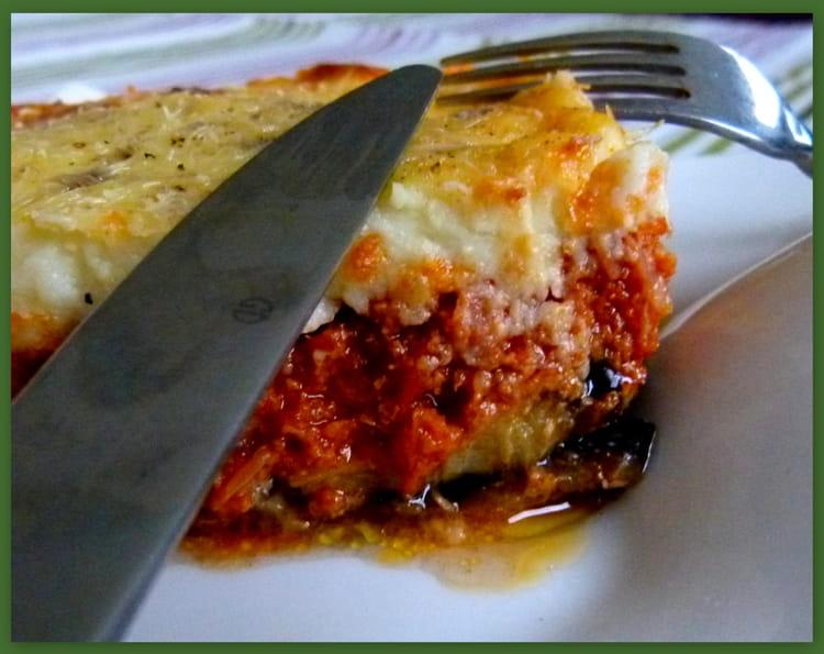 Recette moussaka la grecque agneau - Cuisiner aubergine rapide ...