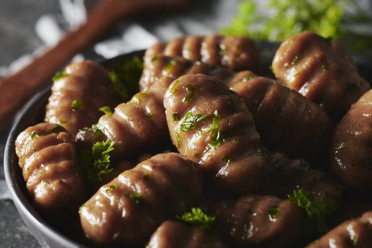 Gnocchi à la purée de marrons