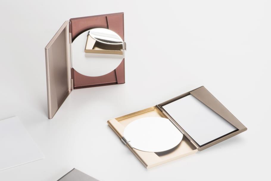 L'objet du désir : le porte-cartes miroir Fine by Pauline Deltour pour Lexon