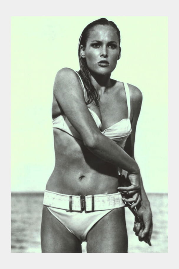 Ursula Andress, James Bond Girl