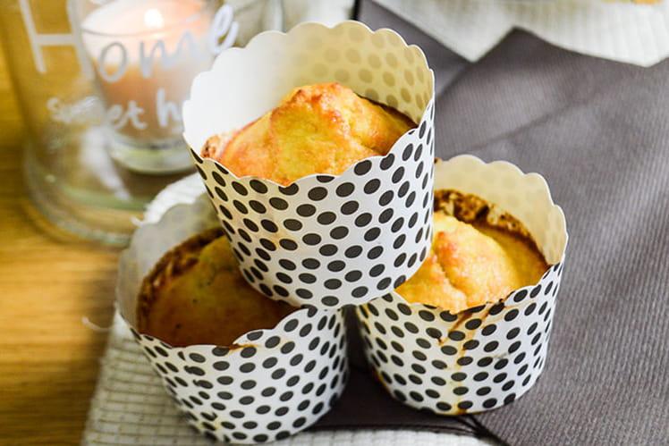 Muffins coco-choco healthy