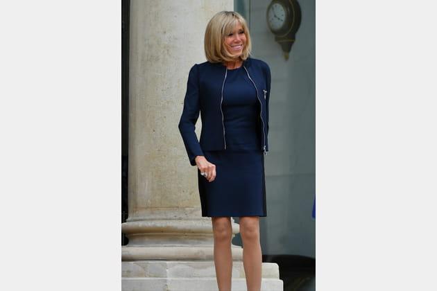 Brigitte Macron le 6juin 2017