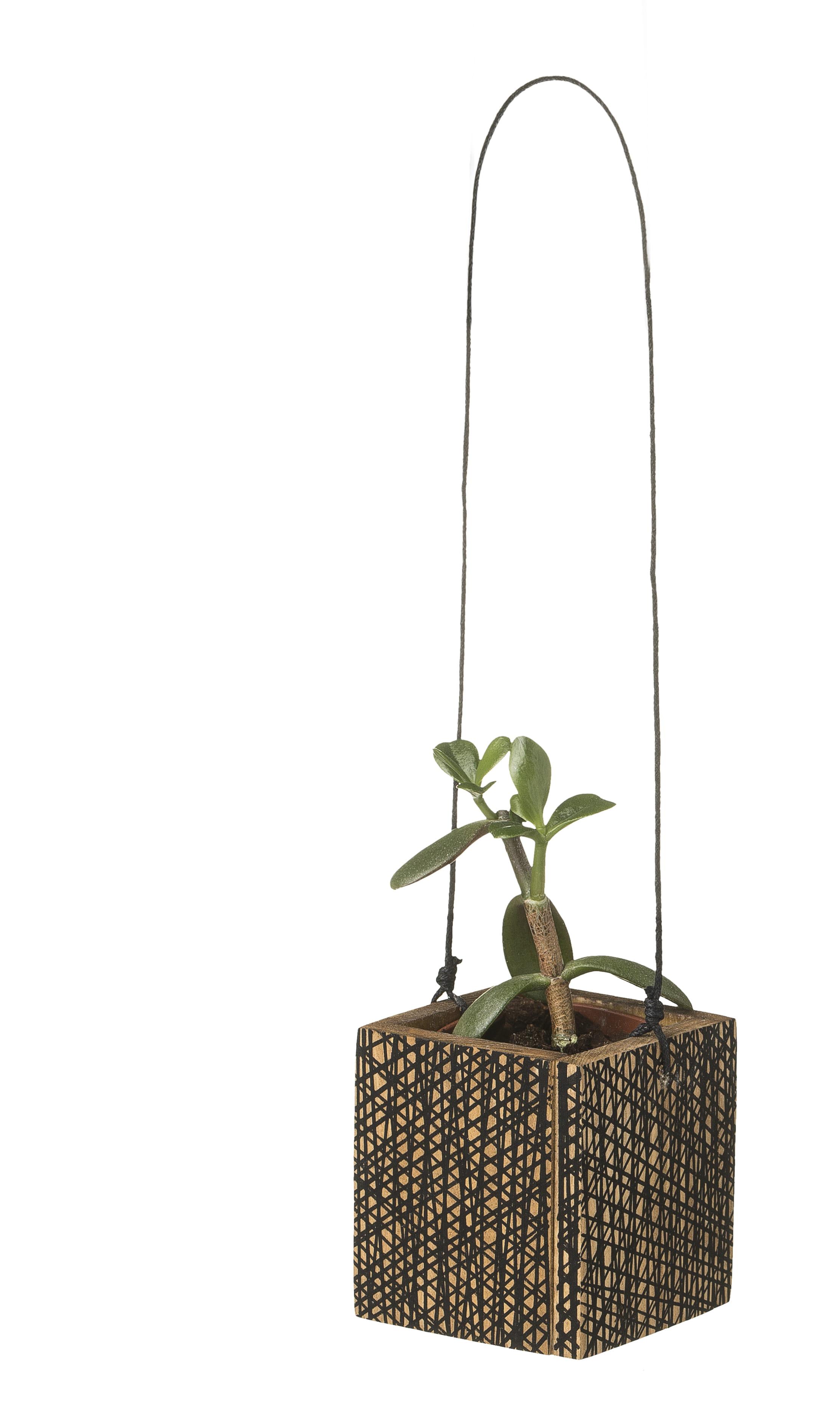 cache pot suspendre en bois chez etsy. Black Bedroom Furniture Sets. Home Design Ideas