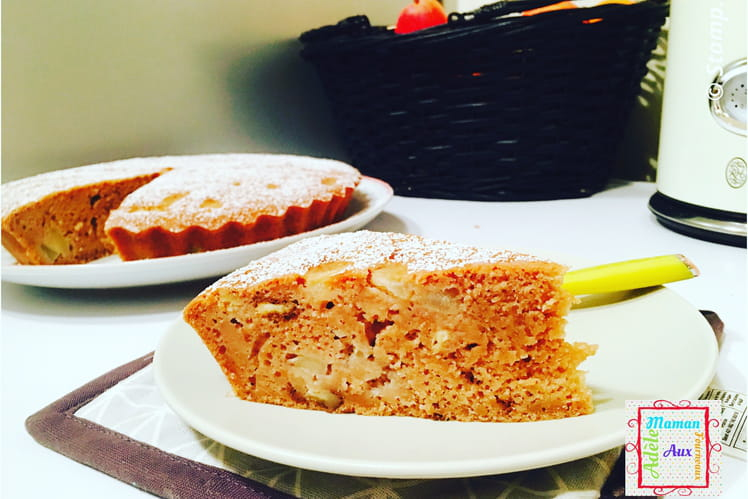 Gâteau Ardéchois aux poires
