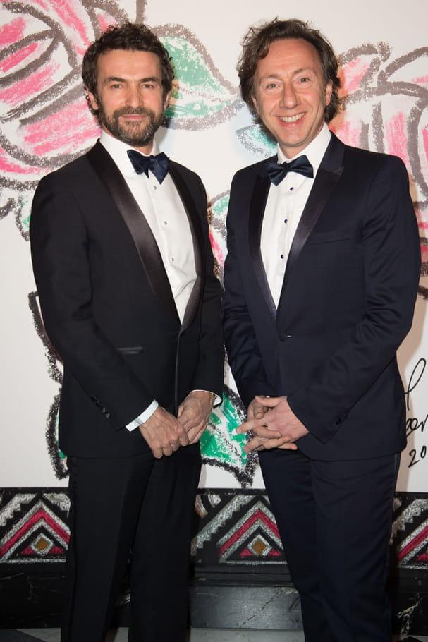 Cyril Vergniol et Stéphane Bern