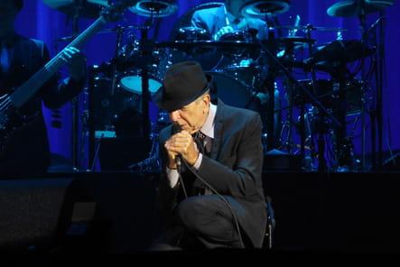 Leonard Cohen en concert à Toulon en 2009