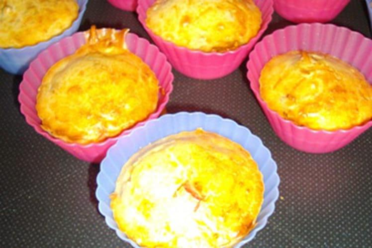 Muffins salés au jambon et aux graines de tournesol