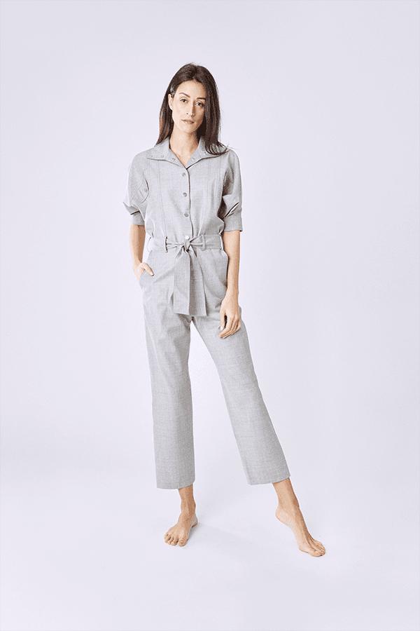 plus bas rabais célèbre marque de designer élégant et gracieux Combinaison grise de Carolina Ritzler