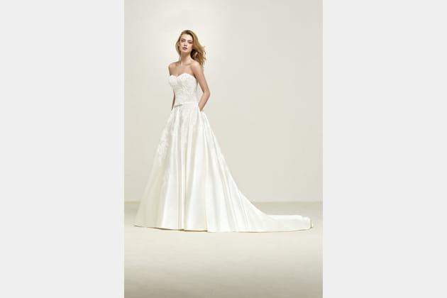 Robe de mariée Drape de Pronovias