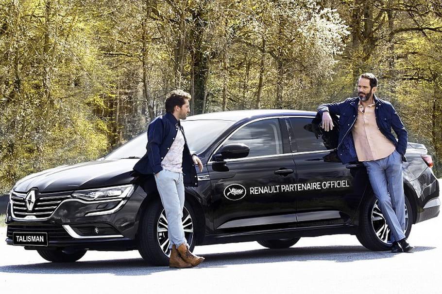 La Renault Talisman sur le tapis rouge du Festival de Cannes