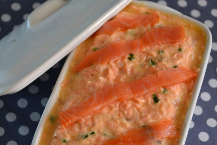 Rillettes aux deux saumons et yaourt nature