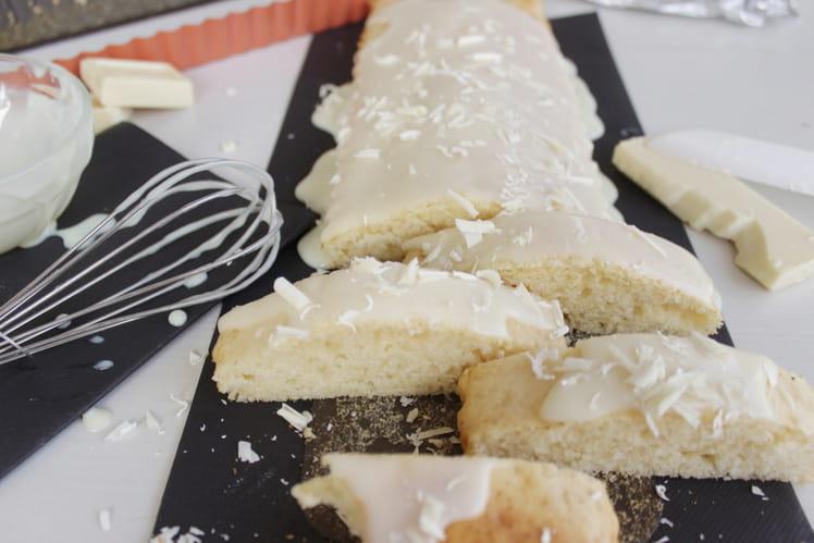 Moelleux chocolat blanc sans beurre