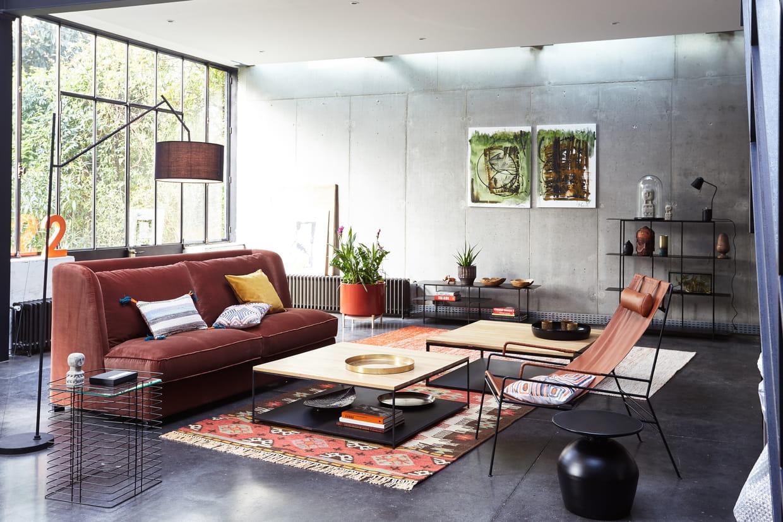 canap jaseran d 39 am pm. Black Bedroom Furniture Sets. Home Design Ideas