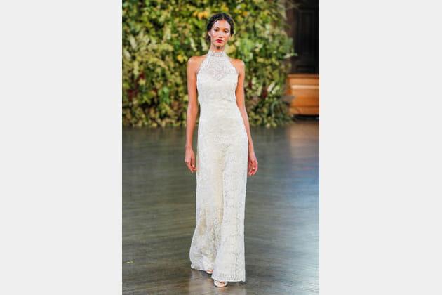 La robe à col Claire Pettibone