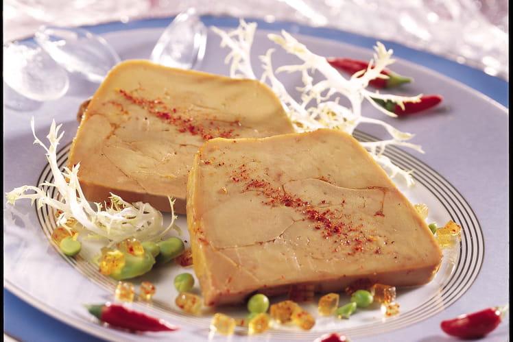 Recette de foie gras de canard en terrine la recette facile - Recette terrine foie gras ...
