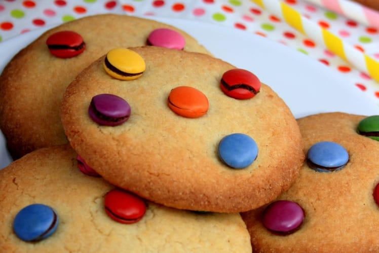 Cookies vanille et smarties