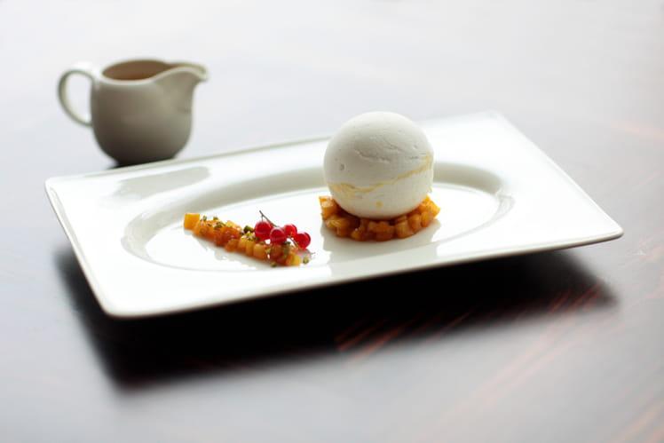 Dessert Boule de Neige