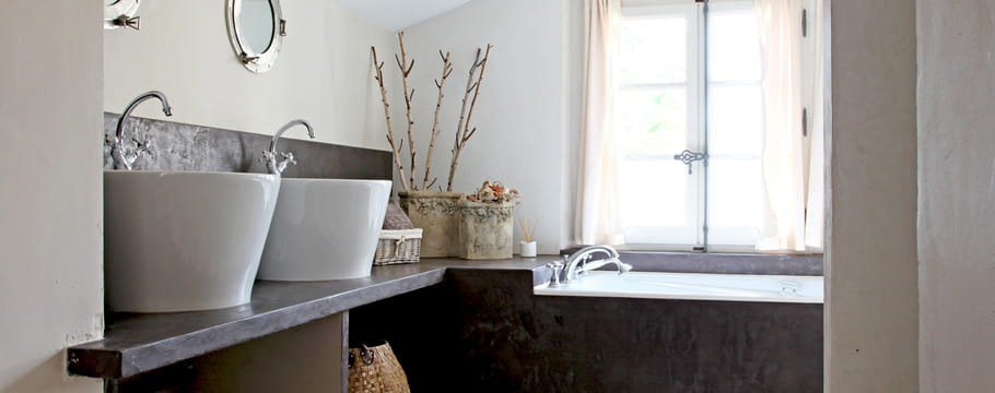 b ton cir pose couleurs et entretien de ce rev tement. Black Bedroom Furniture Sets. Home Design Ideas