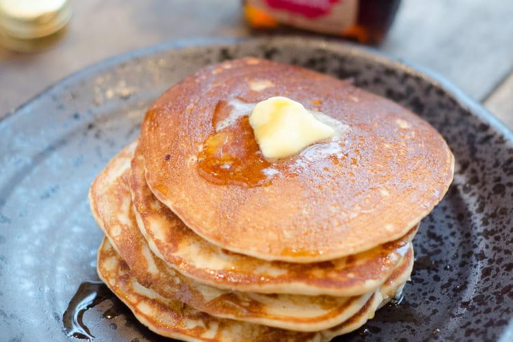 Pancakes à la farine bio