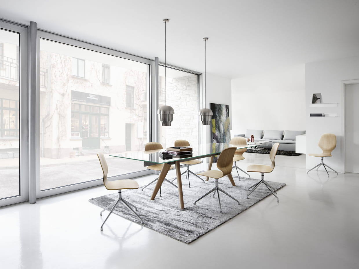 Table monza de boconcept for Meuble boconcept