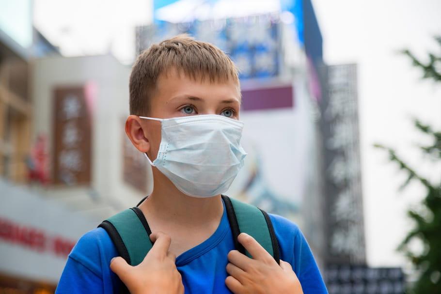 Un enfant sur sept respire de l'air toxique