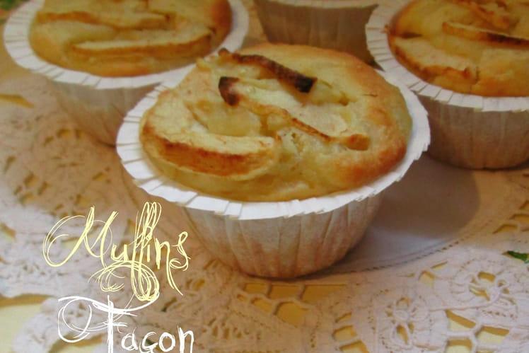 Muffins façon Tarte aux pommes
