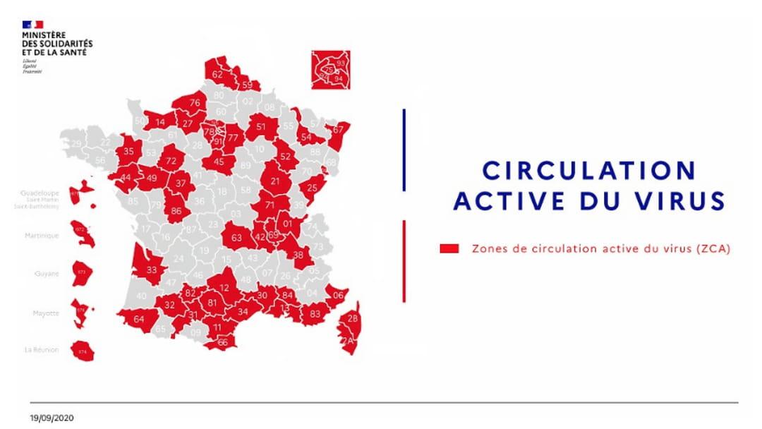 carte département rouge covid