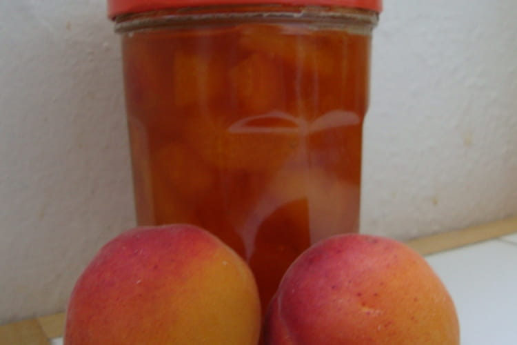 Confiture légère aux abricots