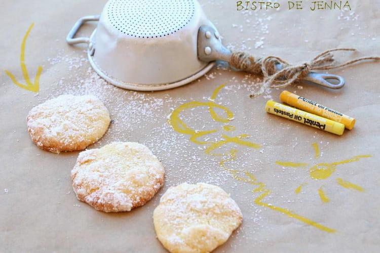 Biscuits au citron et aux amandes