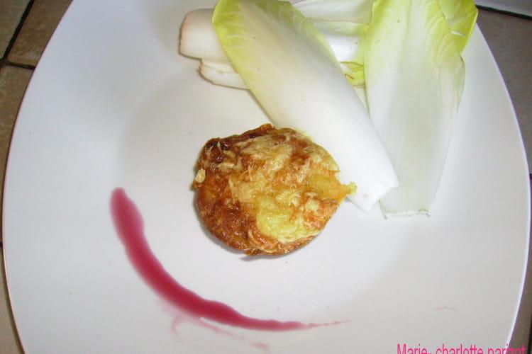 Muffin lardons et fromage à raclette