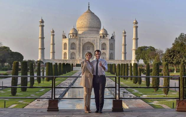 Escapade romantique au Taj Mahal