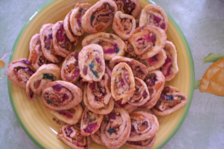 Petits gâteaux roulés