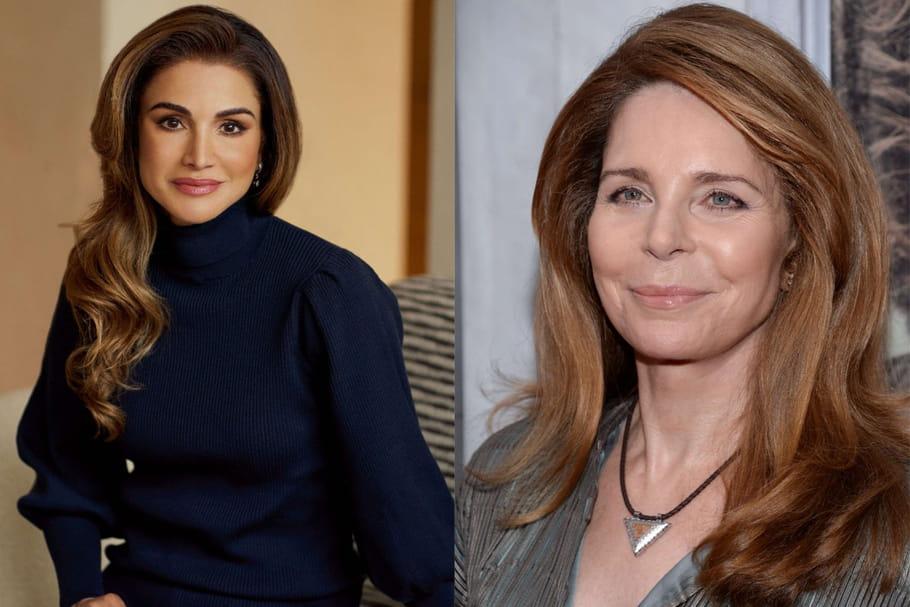 La reine Rania et Noor de Jordanie, rivales: les scandales