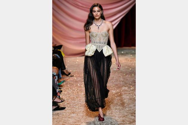Ulyana Sergeenko haute couture automne-hiver 2019-2020