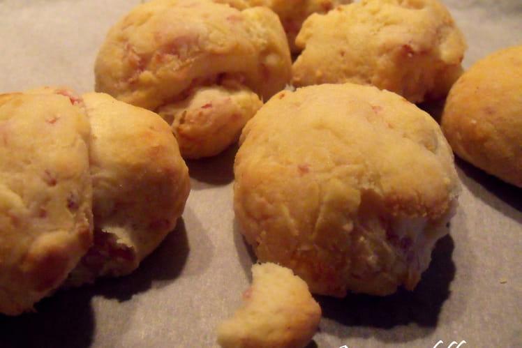 Petits pains chèvre/jambon
