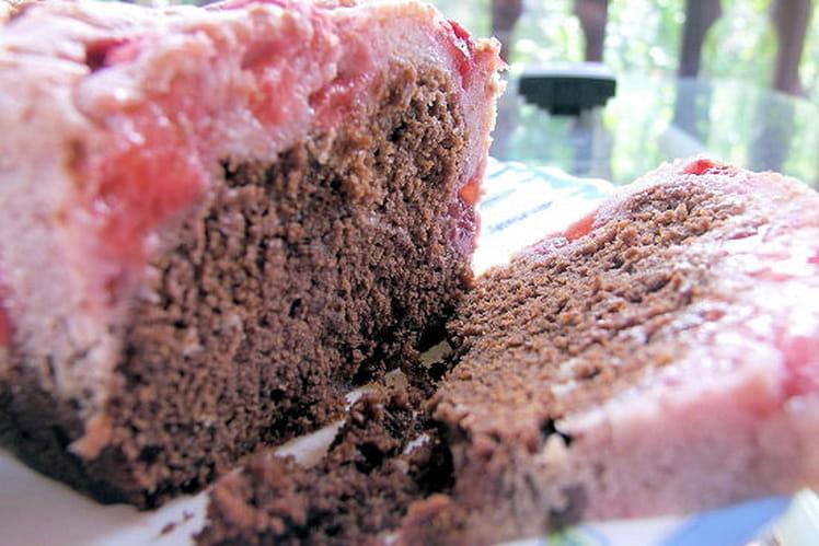 Marbré choco-fraise