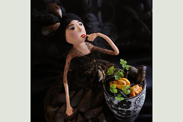Conchiglie e cozze par Myriam Gauthier-Moreau