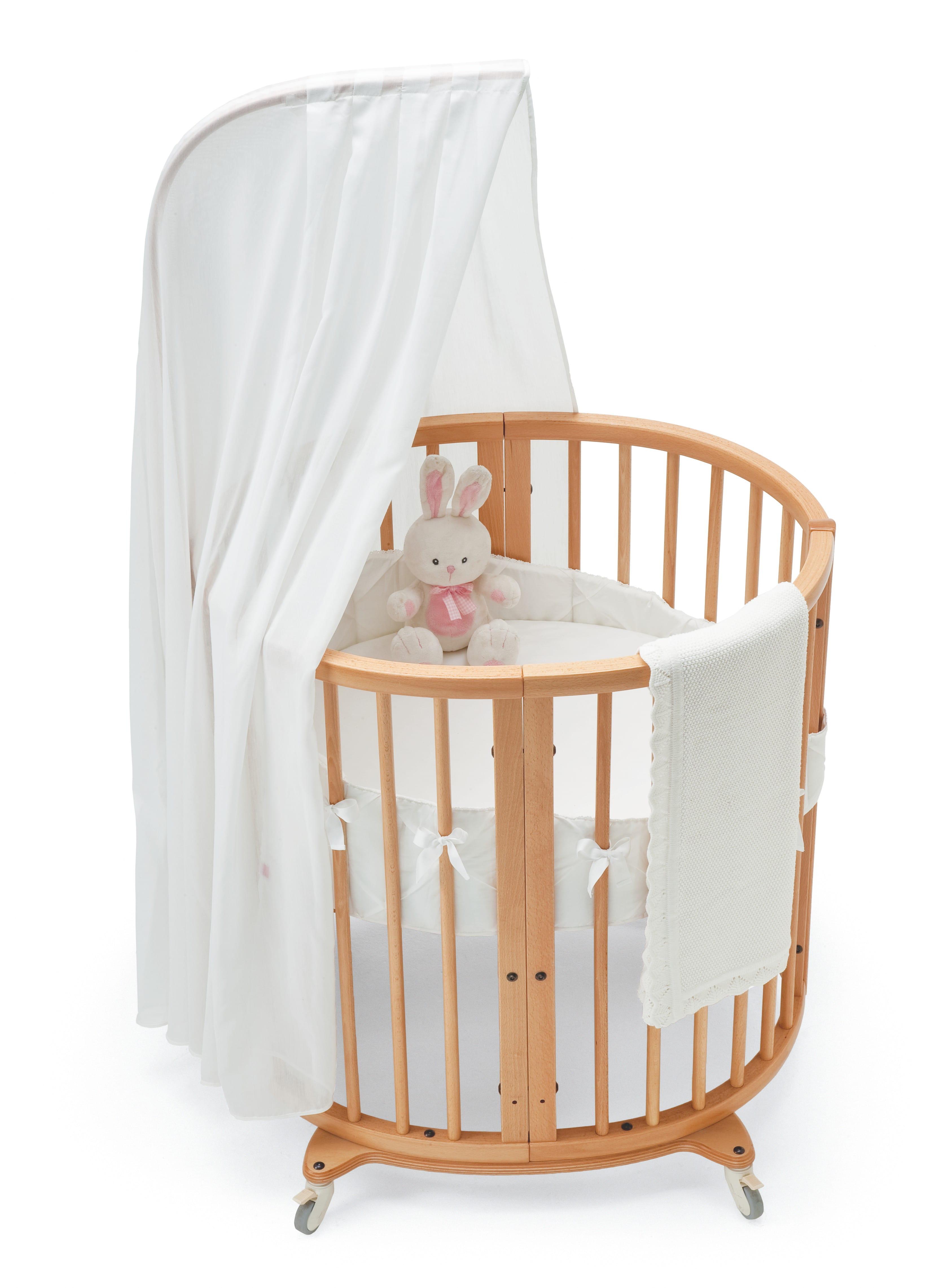 lit de b b sleepi mini de stokke. Black Bedroom Furniture Sets. Home Design Ideas