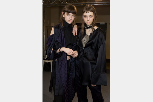 Ann Demeulemeester (Backstage) - photo 21