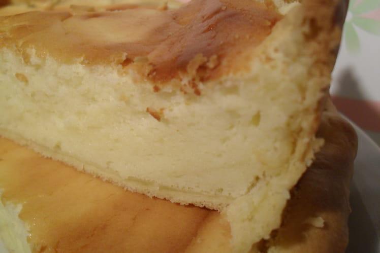 Tarte cheesy au chocolat blanc