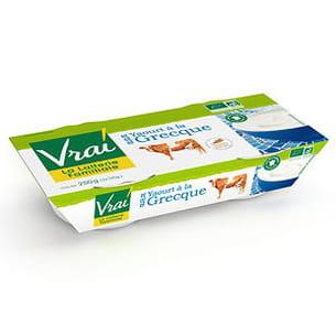 yaourt à la grecque au lait de vache