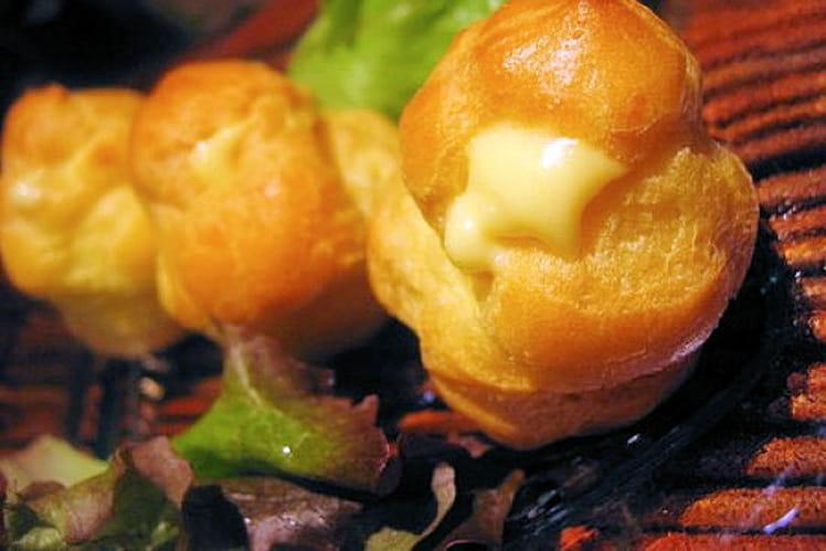 Choux au camembert