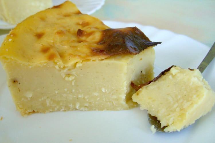Flan pâtissier soja-coco
