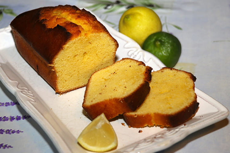 Cake au citron comme une Madeleine