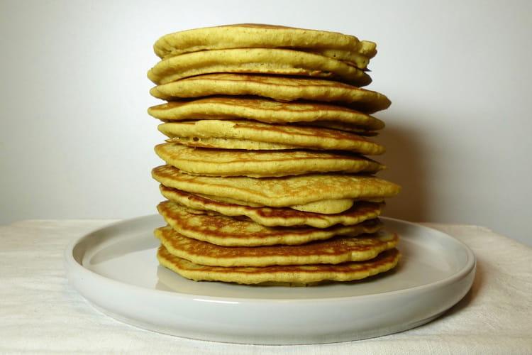 Pancakes à la fécule de pommes de terre sans gluten et sans lactose
