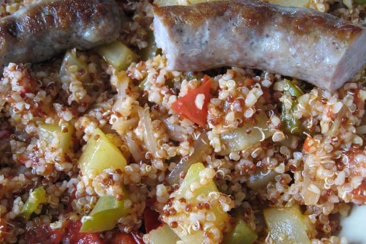Poêlée de légumes d'été au quinoa